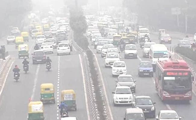 Volume Of Pollutants On The Rise In Delhi