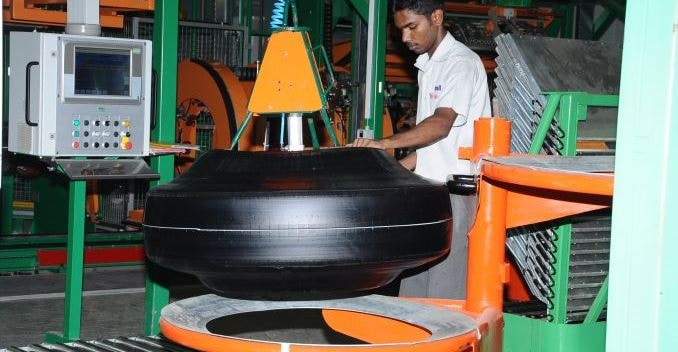 Apollo Tyres Manufacturing Process
