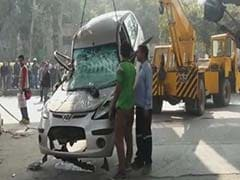 In Delhi Bridge Collapse, Hyundai i10 Car is Pummelled, 3 Injured