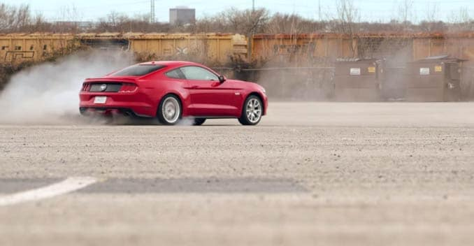 Ford Uses the Mustang GT And a Woman Stunt Driver To Prank Blind Dates