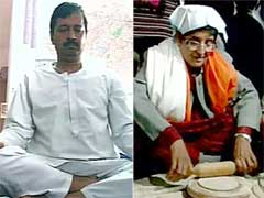 Arvind Kejriwal Gets Haircut, Kiran Bedi Makes Rotis Before Delhi Polls