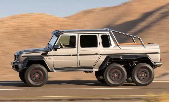 Mercedes benz g63 6x6 to go out of production ndtv for Mercedes benz amg 6x6 price