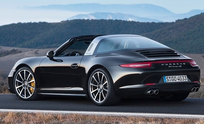porsche 911 targa launched in india prices start at rs crore ndtv carandbike. Black Bedroom Furniture Sets. Home Design Ideas