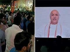Despite Police Ban, Praveen Togadia Addresses VHP Supporters Via Video in Bengaluru, May Face Action