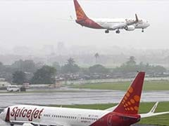 Aircraft Lands Safely Despite Few Rubber Pieces Of Main Wheel Tyre Coming Off