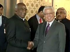 Singapore President Tony Tan Arrives in India on 4-day Visit
