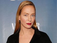 Uma Thurman's New Look Creates a Stir on Twitter