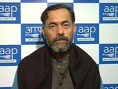 Fevicol for Arvind Kejriwal, Bouquets for BJP, Says Yogendra Yadav of AAP