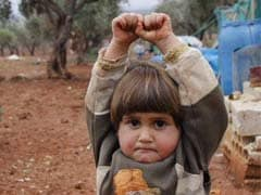 Why This Photo of Syrian Child 'Surrendering' to a Camera is Breaking Hearts