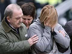 Relatives of German Plane Crash Victims Gather at Barcelona Airport