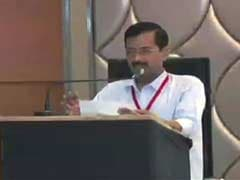 AAP Releases Video Of Arvind Kejriwal's Speech at Controversial Party Meet