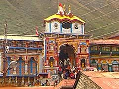 Doors of Badrinath Shrine Thrown Open for Pilgrims