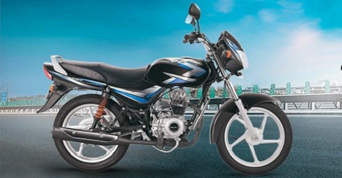 bajaj ct100 reintroduced becomes india 39 s cheapest bike. Black Bedroom Furniture Sets. Home Design Ideas
