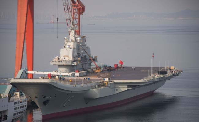 China's First Aircraft Carrier Now Ready For Combat