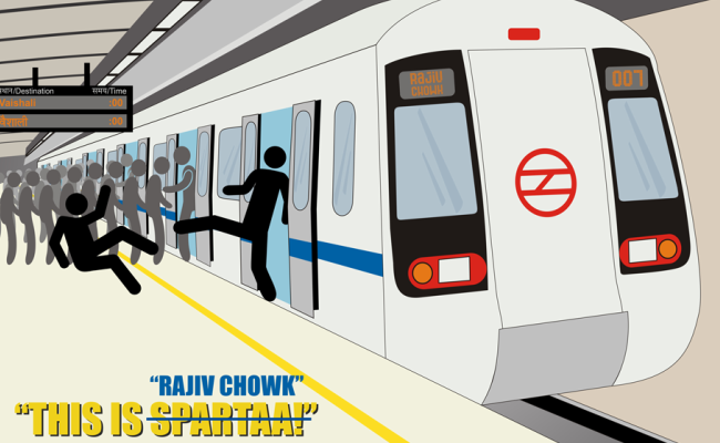 Someone Just Made These Awesome Posters Of The Delhi Metro