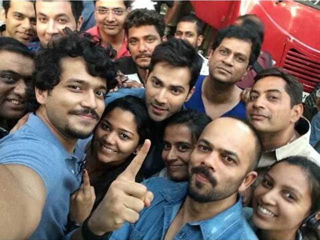 Dilwale First Day Of Shoot