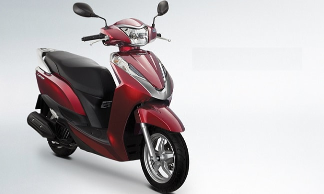 Honda Lead 125cc scooter for India
