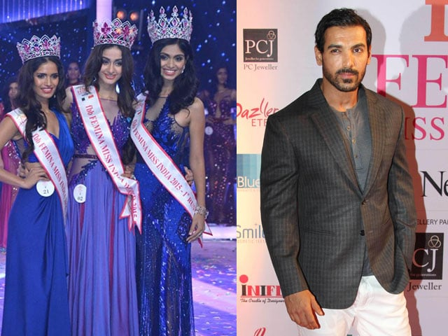 Aditi Arya Wins Miss India 2015, John Abraham on Judging Contestants