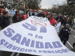 Thousands Flock to Anti-Austerity 'Dignity March' in Madrid
