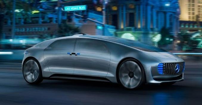 mercedes benz autonomous driving concept