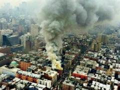 Major Blaze Rips Through New York Building