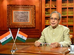 President Pranab Mukherjee Pitches for Skill Development Programme
