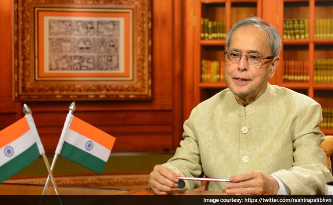 President Pranab Mukherjee Greets Nation on Eve of International Women's Day