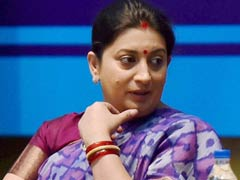 Minister Smriti Irani's Fiery Speech in Parliament is Talk of the Town