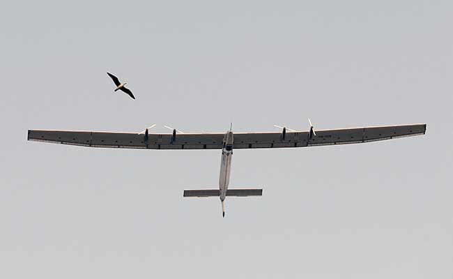 Solar-Powered Plane Lands in India to Complete First Sea Leg