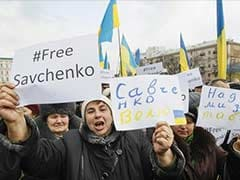 Mother of Captured Ukraine Pilot Lobbies Germany to Help Free Daughter