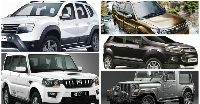 Top 5 SUVs in India Under Rs. 12 lakh - News - NDTV ...