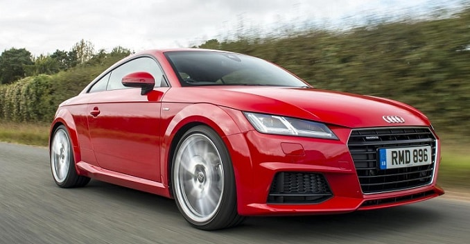 New-Gen Audi TT Launched in India; Priced at Rs. 60.34 Lakh