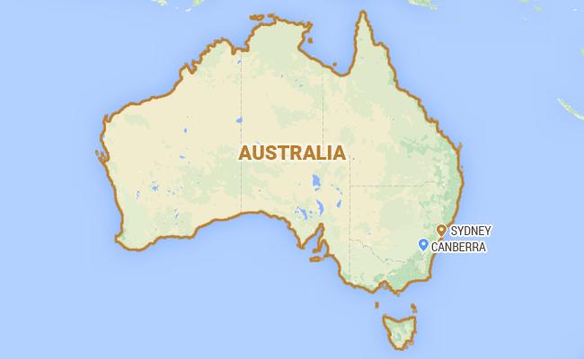 Hits Australias Christmas Island Migrant Centre – Map of Christmas Island and Australia