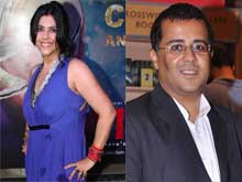 Chetan Bhagat is X-Factor of Nach Baliye 7, Says Ekta Kapoor