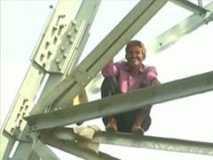 Rajasthan Farmer Climbs Atop Power Grid Tower, Demands Rs 20 Lakh as Compensation
