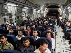 Over 350 Indians Arrive Home After Dramatic Rescue From Yemen