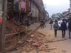 Buildings Collapse in Nepal Capital After 7.9 Earthquake: Witnesses