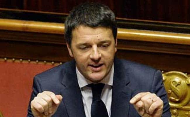 Italy's PM Matteo Renzi Criticises Franco-German Dominance In European Union