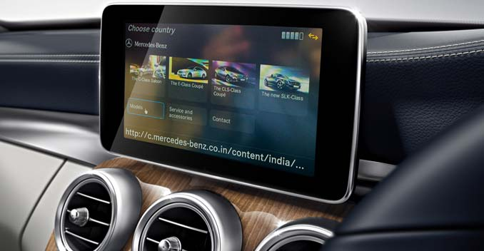 Mercedes benz india unveils cloud based app ndtv carandbike for Mercedes benz apps