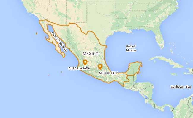 Blank United States And Mexico Map Maps Pinterest Teaching ISIS - Map of southern us and mexico