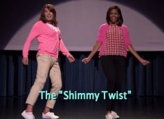 Michelle Obama Dances With Jimmy Fallon, Again. And It's Hilarious, Again