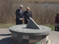 Prime Minister Narendra Modi, Canadian Counterpart Harper Pay Tribute to Crash Victims at Air India Memorial
