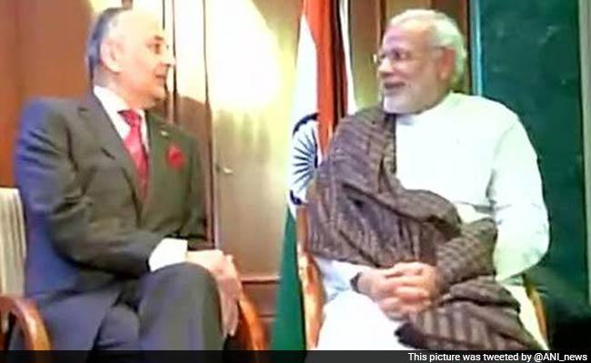 Netaji Subhas Bose's Grand Nephew Meets Prime Minister Modi in Berlin