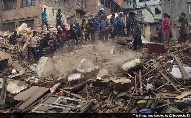 Real Nepal Earthquake Nepal Earthquake Intensity