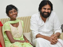 Pawan Kalyan Spends Time With Young Fan and Family