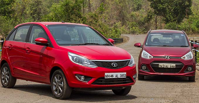 So sánhHyundai Grand i10 vs Tata bolt