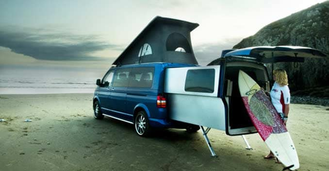 Volkswagen T5 Based Camper Van Can Be Your Home Ndtv