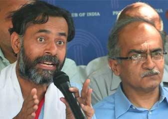 AAP's attitude reminds me of Stalin says Prashant bhushan