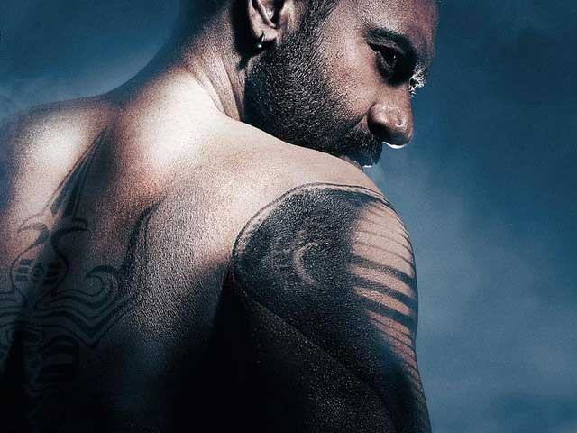 First Look: Ajay Devgn in Shivaay - NDTV Movies