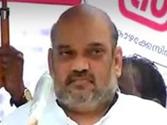 Amit Shah Appeals for a Congress-free Kerala at BJP Protest Meet